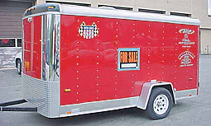 Used Cargo Trailers For Sale Cardinal Sales